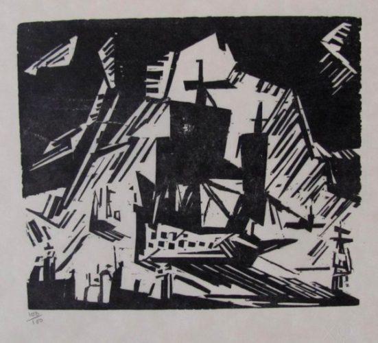 The Departure by Lyonel Feininger at