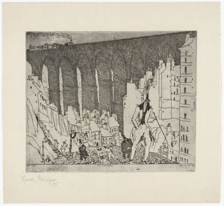 The Disparagers by Lyonel Feininger at