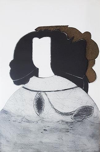 Reina Mariana Iv by Manolo Valdes