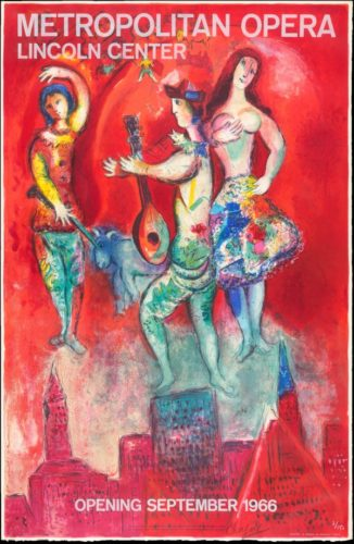 Carmen by Marc Chagall at