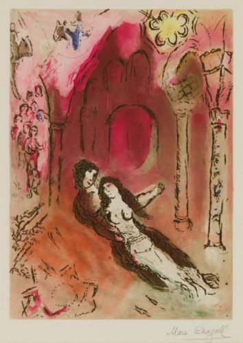 Grenade by Marc Chagall at Christopher-Clark Fine Art