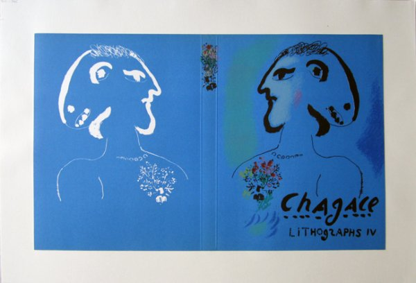 Lithographs 4 by Marc Chagall at