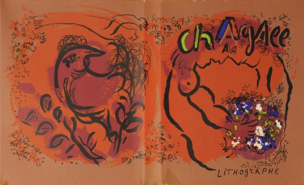 Lihographie by Marc Chagall at