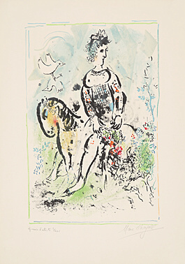 Pierrot Lunaire by Marc Chagall at Marc Chagall