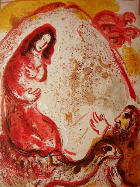 Rachel Dérobe Les Idoles De Son Père (rachel Steal by Marc Chagall