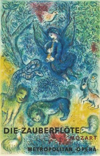 Die Zauberglote (the Magic Flute) by Marc Chagall