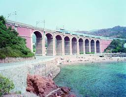 Antheor Viaduct by Massimo Vitali at