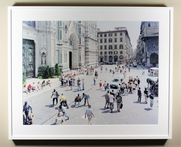 Firenze Via Via by Massimo Vitali at