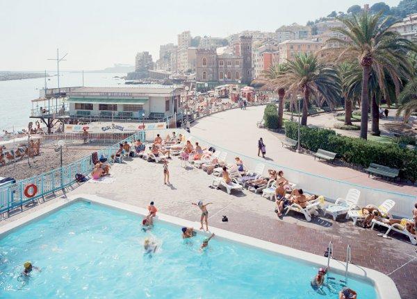 Genova Pegli West by Massimo Vitali at