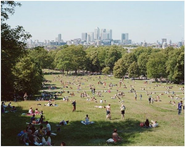 Greenwich Park by Massimo Vitali at