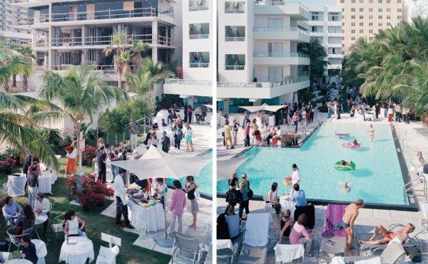 Miami, Sagamore Diptych by Massimo Vitali