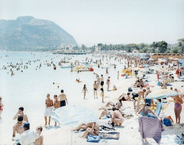 Mondello Beach by Massimo Vitali