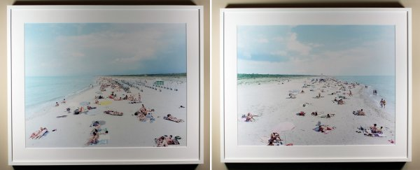 Vecchiano South & Vecchiano North (2 Pc. Ste.) by Massimo Vitali at