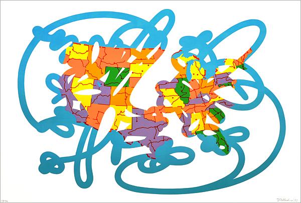 """""""bad Map"""" by Matthew Palladino"""