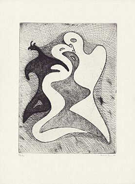 Correspondances dangereuses by Max Ernst at