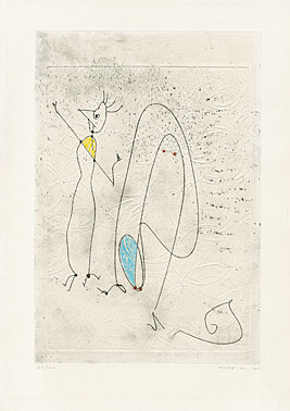 Les Noces Interrompues by Max Ernst at