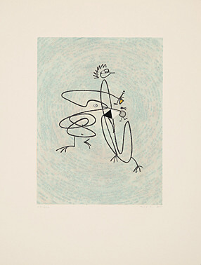Untitled – Graphisme I by Max Ernst at