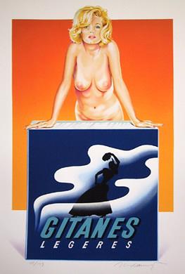 Gitanes by Mel Ramos at RoGallery