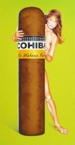 Hav-a-havanna # Iii Cohiba by Mel Ramos