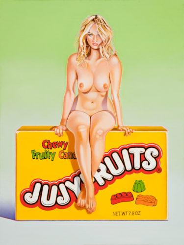 Jujyfruits Judy by Mel Ramos