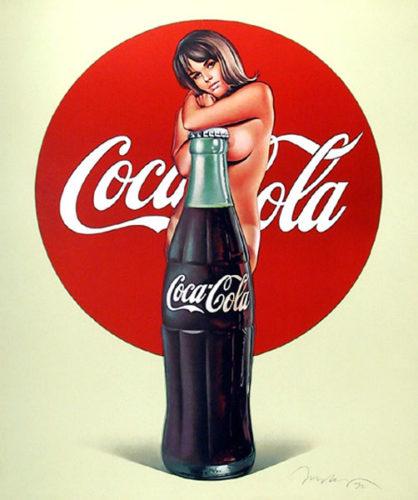 Lola Cola (vintage Portfolio) by Mel Ramos