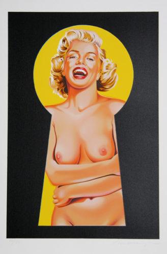 Peek A Boo Marilyn 2 by Mel Ramos at RoGallery