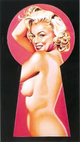 Peek-a-boo Marilyn 1 by Mel Ramos