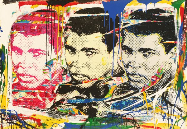 Champ by Mr. Brainwash