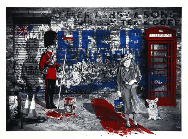 Jubilation by Mr. Brainwash