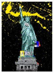 Liberty by Mr. Brainwash at Lieberman Gallery