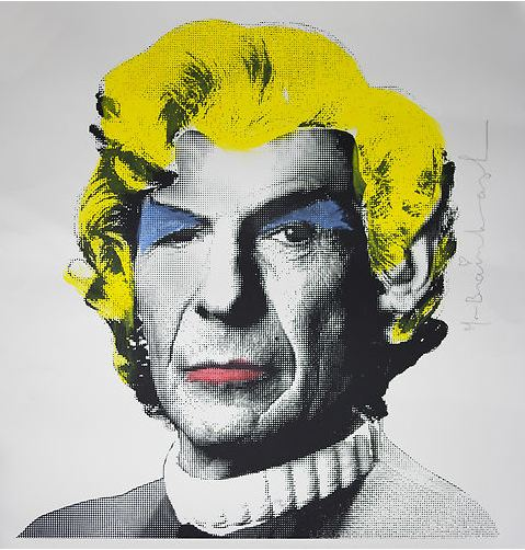 Marylin Monroe Spock by Mr. Brainwash
