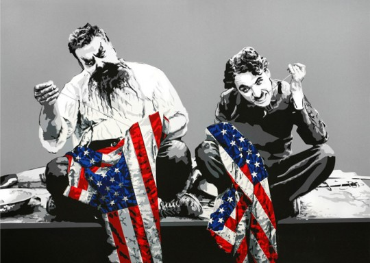 Recovery Plan by Mr. Brainwash at Lieberman Gallery
