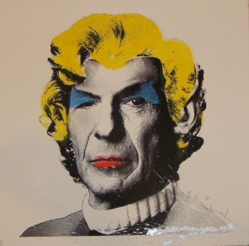 Spock Monroe by Mr. Brainwash
