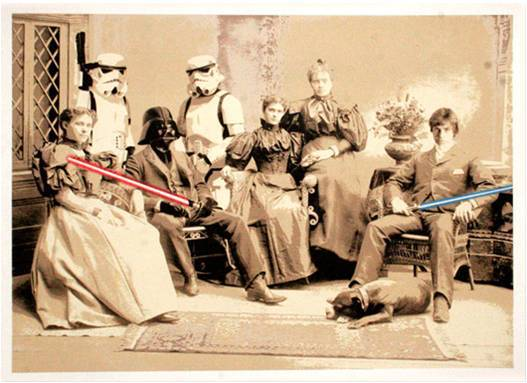 Star Wars Reunion by Mr. Brainwash