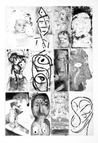 Twelve Heads by Nicole Eisenman