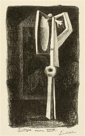 Figure.  Baigneuse A La Cabine by Pablo Picasso