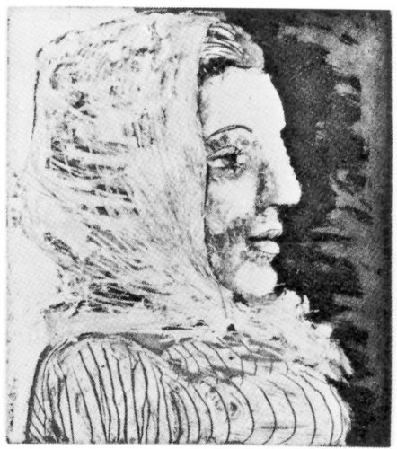Buste De Femme Au Fichu by Pablo Picasso at John Szoke Gallery (IFPDA)