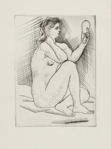 Femme Au Miroir by Pablo Picasso at Christopher-Clark Fine Art