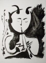 Faun Musician, No. 4 by Pablo Picasso at R. S. Johnson Fine Art (IFPDA)