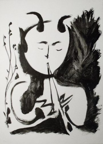 Faun Musician, No. 4 by Pablo Picasso at R. S. Johnson Fine Art (IFPDA)