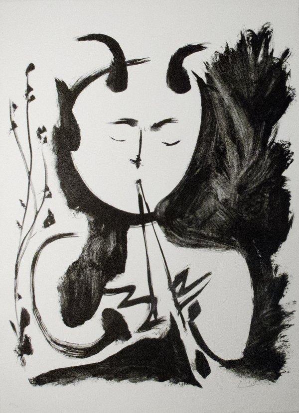 Faun Musician, No. 4 by Pablo Picasso