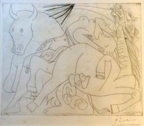 Femme Torero, Iv by Pablo Picasso at Kunzt