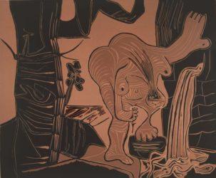 Femme à La Source by Pablo Picasso at R. S. Johnson Fine Art (IFPDA)