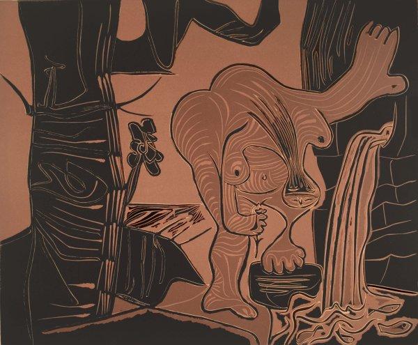 Femme à La Source by Pablo Picasso at