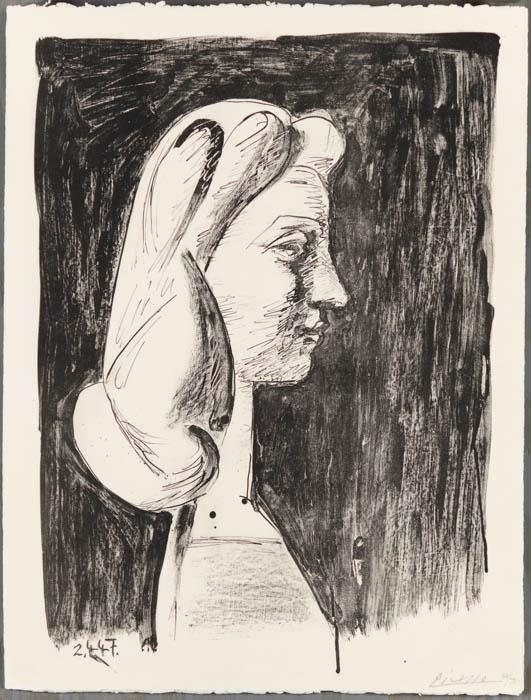 Grand Profil (large Profile) by Pablo Picasso