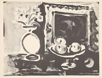 Grande nature morte au compotier by Pablo Picasso