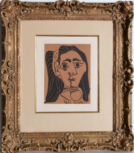 Jacqueline Au Bandeau by Pablo Picasso at Pablo Picasso