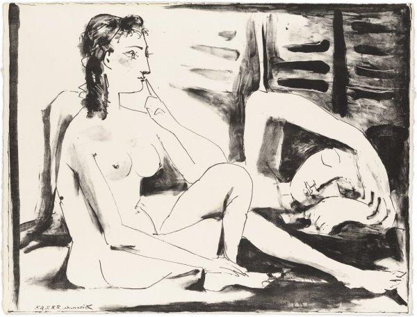 La Dormeuse by Pablo Picasso