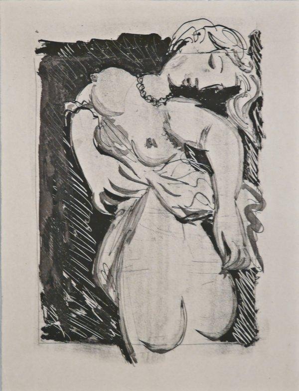 La Puce (the Flea) by Pablo Picasso