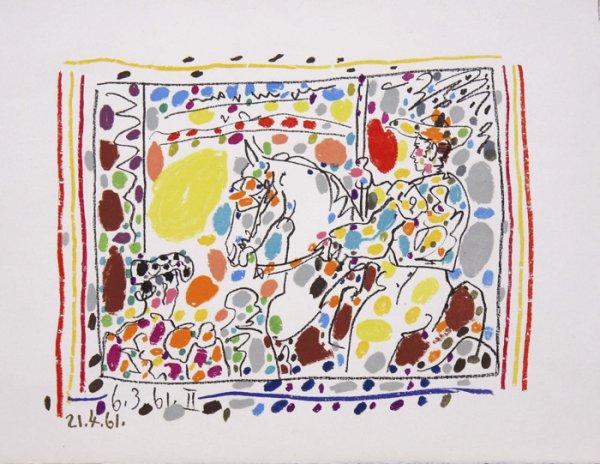 Le Picador Ii by Pablo Picasso